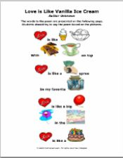 Valentine Poems - Language Exercise - pinned by @PediaStaff – Please Visit  ht.ly/63sNt for all our pediatric therapy pins
