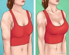 Moves to Achieve Beautiful Arms and Tight Breasts – Bilge Cafe – Health and Fitness Fitness Home, Fitness Tips, Fitness Motivation, Health Fitness, Health Club, Easy Workouts, At Home Workouts, Breast Muscle, Cat Exercise