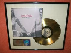 Jars of Clay RIAA Award Gold Framed 500 000 Sales Award Much Afraid CD Record LP | eBay