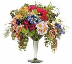 No hay mejor arreglo floral para decorar un cumpleaños