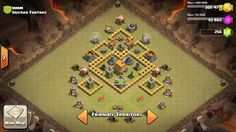 Clash of Clans war base th 6