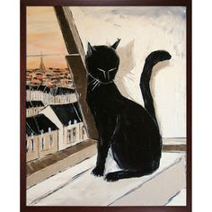 <li>Artist: Atelier De Jiel</li><li>Title: Black Cat is a Paris Master </li><li>Product type: Canvas Art</li>