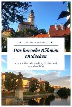 Auch außerhalb von Prag ist Tschechien wunderschön. Viele Orte sind UNESCO Welterbe - die besten Tipps für das barocke Böhmen im Blog.