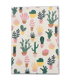 2017 Cactus diaries designed for Japanese company Marks Stationery