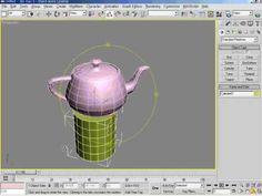 3DsMax5   04강 탭페널의 구성과 메인툴바 사용방법 2