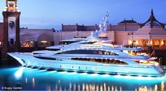 """Luxury Yacht Design: """"Diamonds Are Forever"""", a luxurious Benetti superyacht Luxury Sailing Yachts, Big Yachts, Yacht Design, Yacht Interior, Yacht Boat, Yacht Club, Boat Plans, Luxury Travel, Around The Worlds"""