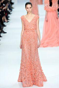 Elie Saab Spring 2012 Couture Fashion Show - Brenda Kranz (OUI)