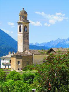 Soglio, Graubünden, Switzerland
