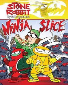 Stone Rabbit #5: Ninja Slice by  Erik Craddock