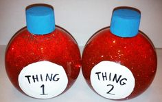 Thing 1 and Thing 2 Calm-Me-Jar
