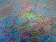 Ocean waves with Silk Acrylic Glaze by Linda Ann Smith - YouTube