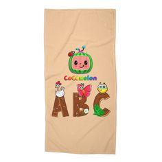 Text Design, Logo Design, Cartoon Design, Kids Songs, Nursery Design, Special Characters, Lower Case Letters, Nursery Rhymes, Beach Towel