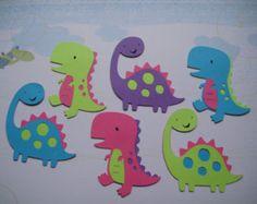 T-rex & Brachiosaurus 6 girl dinosaur Cricut die cuts