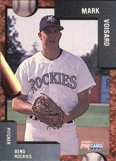 1992 Fleer/ProCards #1475 Mark Voisard Front
