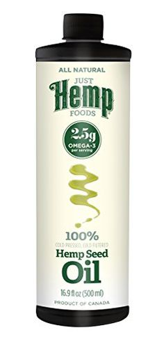 Hemp Seed Oil (Plastic), 16.9 Ounce Great tasting Hemp Hearts have a slightly nutty taste, similar to a sunflower seed or pine nut Simply sprinkle on salad, cereal, granola, oatmeal & yogurt, add to smoothies and recipes or eat straight from the package Contains more protein and omegas and less carbs than the same serving of Chia or Flax