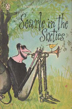 Penguin books: Searle in the Sixties Vintage Book Covers, Vintage Books, Illustrations, Illustration Art, Le Kraken, Ronald Searle, Pop Art, Vintage Penguin, Book Writer
