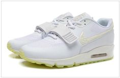 release date: 4a33d ab220 2015 Newest Nike Air Yeezy II 2 Sp Max 90 The Devil Series Trainers Velcro  All White Yellow West Mens Shoes Online Sale, cheap Nike Air Yeezy If you  want to ...