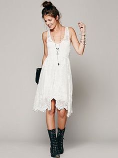 Free People Salinas Foil Dress