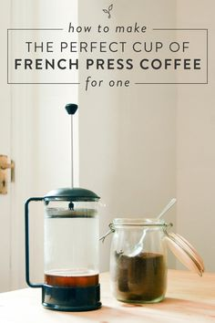 How one can Make the Good Cup of French Press Espresso for One - Espresso - Coffee Recipes Banana Coffee, Kona Coffee, Espresso Coffee, Best Coffee, Coffee Cups, Coffee Coffee, French Coffee, Coffee Time, Coffee Cream