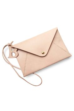Harlex - Clutch - Envelope - Nude with Initial - 92€