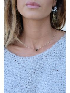 COLLIER TRIANGLE CHARME