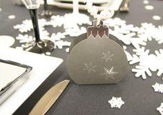 On adore ce contenant à chocolats en forme de boule de Noël !