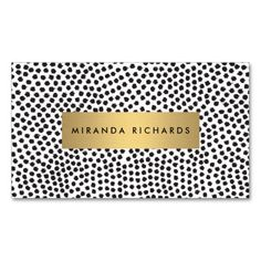 Luxe glamour on a printed business card! The graphic, bold, on-trend design depicts glamour and style. Choose from multiple card stock options. Easy to personalize and order. The perfect card for stylish businesses and individuals!