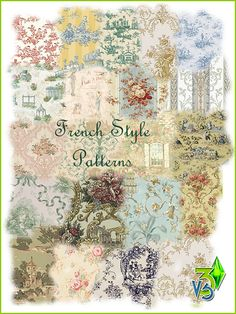 Floral  Damask Stencil French Vintage Card making Paint Furniture Wall Art  TE3
