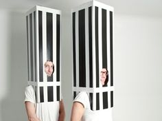 13 Architecture-Themed Costumes Seen at Storefront for Art & Architecture's Halloween Bash Halloween Party, Halloween Costumes, Art Festival, Store Fronts, Art And Architecture, Seasonal Decor, Twin, Drama Class, Hands