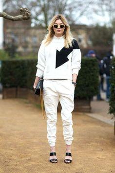 London Town Street Style 2014 Harpers BAZAAR