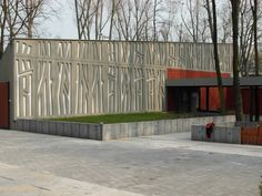 Klub Park SGH, night club in Warsaw. Design: Sojka & Wojciechowski. Perforated EQUITONE facade materials. equitone.com