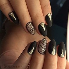 Awesome Nail Designs Collection most fashionable golden and black leaf nail art designs to Awesome Nail Designs. Here is Awesome Nail Designs Collection for you. Awesome Nail Designs awesome nail art idea with marble and glitter ideas de una. Hallographic Nails, Diy Nails, Cute Nails, Hair And Nails, Nails 2018, Purple Ombre Nails, Nagel Hacks, Prego, Trendy Nail Art