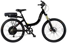 ProdecoTech v3.5 Stride 500 36V 500W 8 Speed 12Ah Li Ion Electric Bicycle, Black Pearl Metallic Gloss, 26-Inch/One Size ** Read more  at the image link.