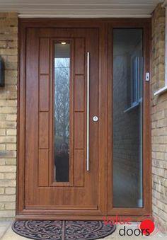 You can even add a handle to your Rockdoor Composite Door!