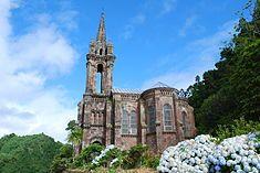 Chapel of Nossa Senhora das Vitórias, Povoação, São Miguel, Azores Azores, Notre Dame, Competition, Building, Travel, Saint Michael, Viajes, Buildings, Destinations