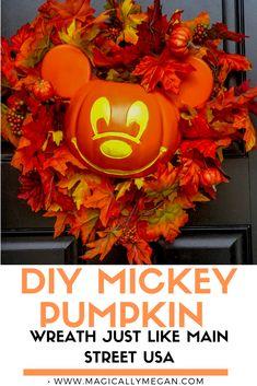 Disney Halloween Decorations, Mickey Halloween, Disney Halloween Costumes, Fall Halloween, Halloween Crafts, Disney Diy, Disney Crafts, Disney Travel, Disney Springs