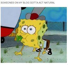 i don t feel like it spongebob