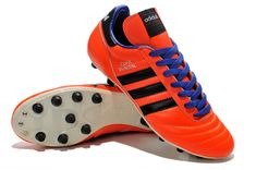 detailed look 3fc16 0a4fb new Orange Adidas Copa Mundial Leather FG Germany Messi Cleats Soccer Boots