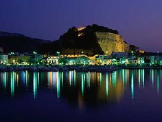 View of Castle Across Illuminated Harbour in Denia (Costa Blanca) Alicante Spain Oh The Places You'll Go, Places Ive Been, Places To Visit, What A Wonderful World, Wonderful Places, Study Spanish, Learn Spanish, Cities, Moraira