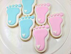 Baby Feet Cookies - by  Miss Cookie Bakes.