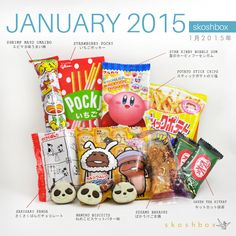 Skoshbox is a monthly subscription box for Japanese snacks! | www.skoshbox.com