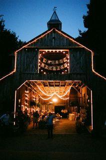 barn wedding is a good outdoorsy non church idea
