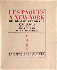 Blaise Cendrars: Les paques a New York.