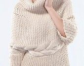 I have always wanted to knit a sweater!  This might be the one :)
