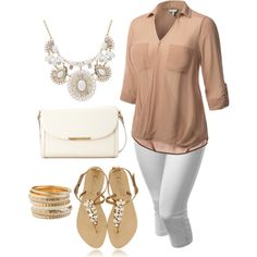 Plus size style., created by hamtowntracey on Polyvore