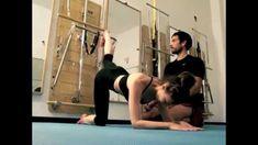 Tutorial de  Pilates SpringBoard EVO T con Manuel y Ainhoa