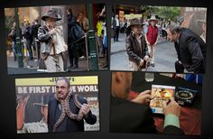 Look what fun we had with John Rhys Davies who plays Sallah throughout Indy's adventures and Australia's Pee Wee whip-cracking champion Joseph Milburn at the Indiana Jones Blu-ray Event in Pitt St Mall, Sydney!
