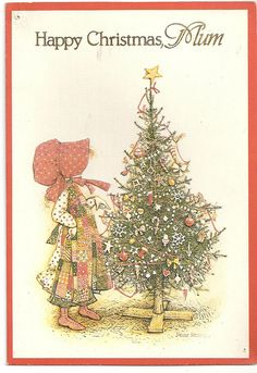 1980's Christmas Card by cheryldecarteret, via Flickr