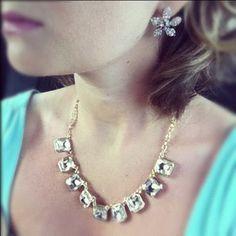 Vintage deco  Necklace 58.00  Earrings 38.00 all at www.loridelarosa.chloeandisabel.com
