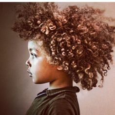 Love this!! So cute I need to find cute styles for my kids CURLY hair